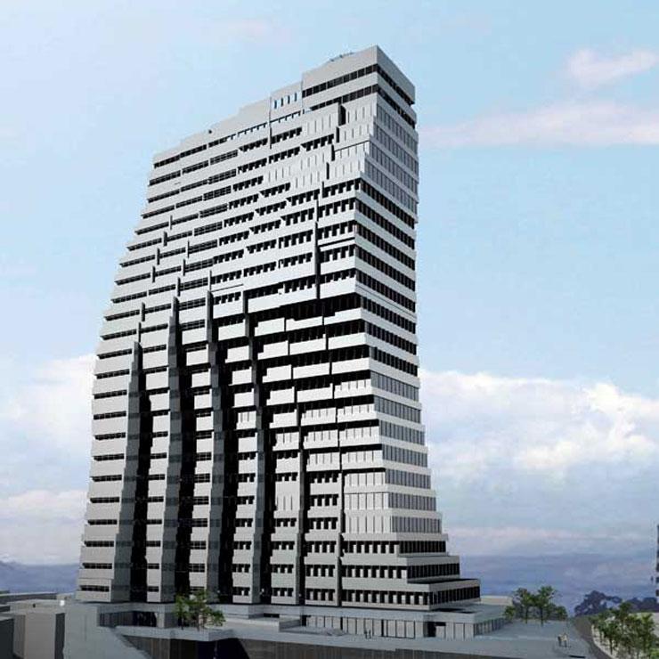 برج اتوبانک ملت